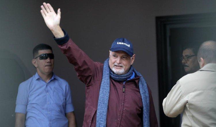 El expresidente de la República, Ricardo Martinelli, ha cuestionado cómo la justicia le es aplicada a él y a su familia.