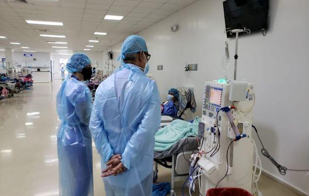 La letalidad en Panamá se sigue manteniendo en 1.7%, y la mayor cantidad de pacientes de covid-19 se han recuperado. Foto: Archivo