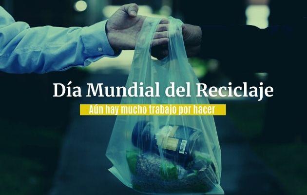La ley que prohíbe el uso de bolsas plásticas con polietileno empezó a regir en julio de 2019. Foto: EFE