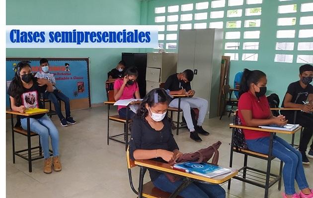 La escuela Manuel Jaén es una de las cuatro escuelas de la provincia de Coclé que iniciará clases semipresenciales. Foto: Grupo Epasa