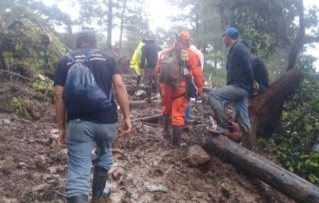 Los huracanes ETA e Iota ocasionaron estragos en varios sectores de Tierras Altas.