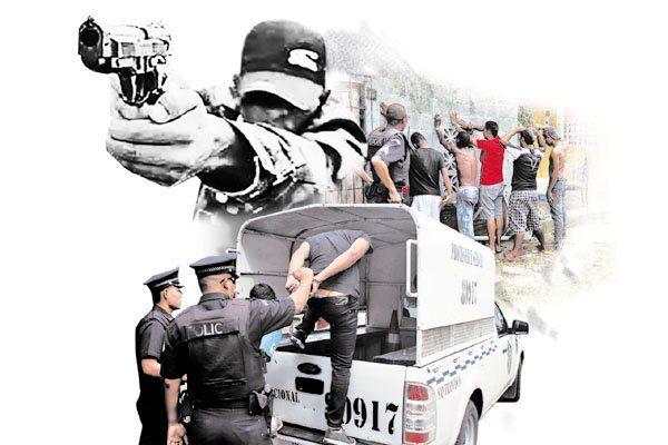 La inseguridad es uno de los problemas que persiste en Panamá sin que los gobiernos den resultados concretos. Foto Ilustrativa