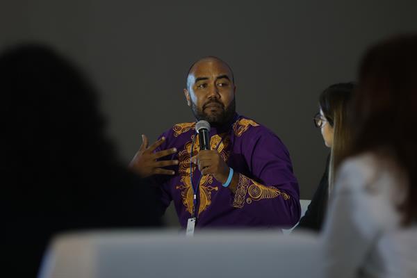 Abel Aronátegui, gestor cultural, director y productor de cine, radio y televisión. Foto:EFE