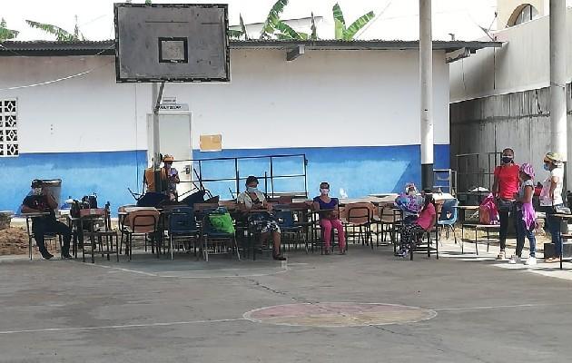Escuela Roberto Eisenmann en Las Lajas de Chame. Foto: Miriam Lasso