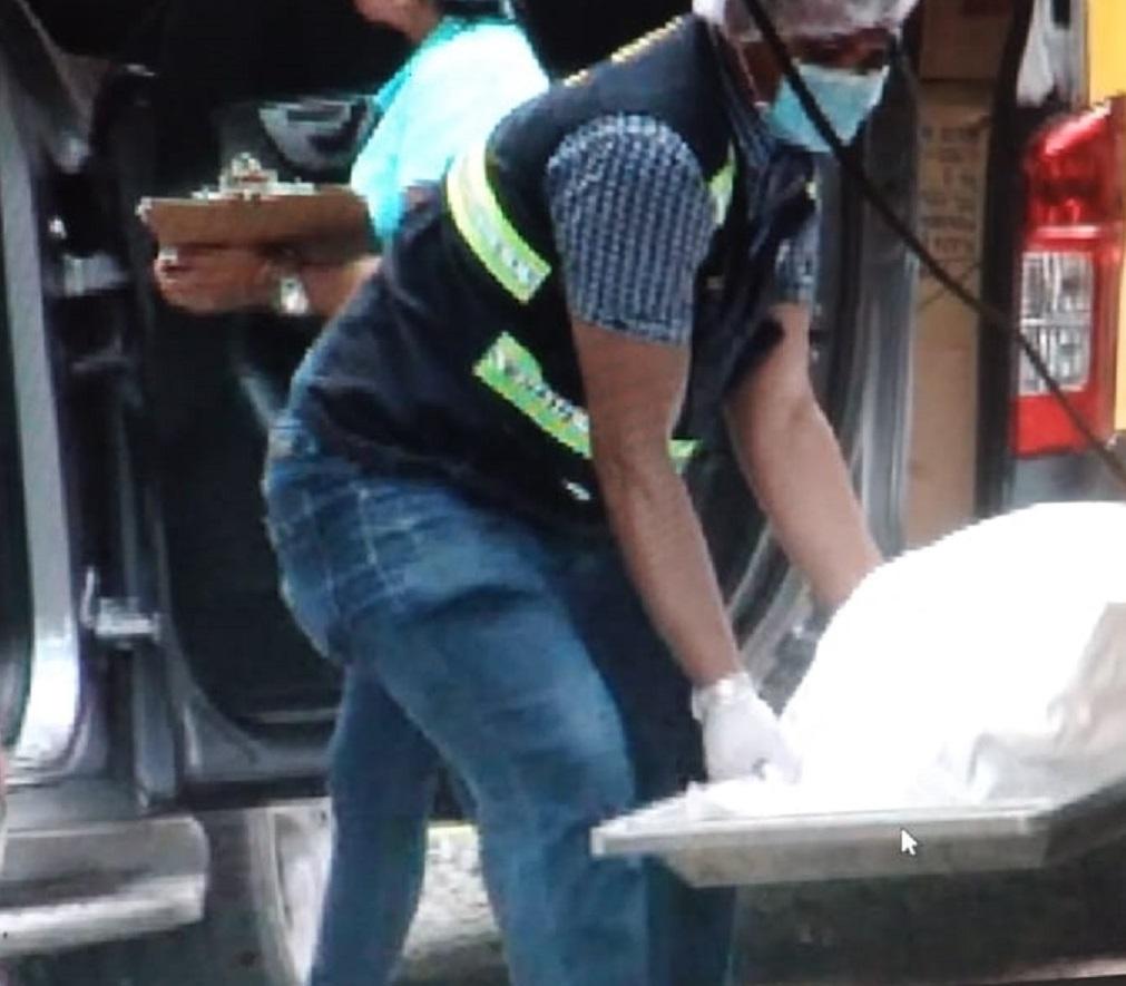 El cuerpo fue enviado a la morgue judicial en el distrito de David. Foto: Mayra Madrid