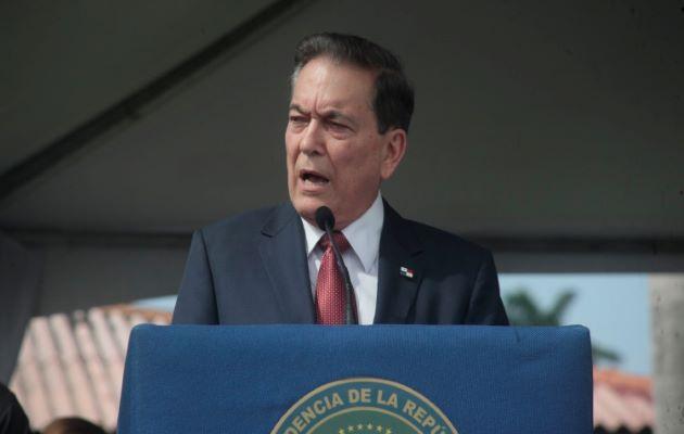 El presidente Laurentino Cortizo dijo desconocer de donde salieron esas vacunas contra la covid-19 que aplicaron en Coco del Mar. Foto: Archivo
