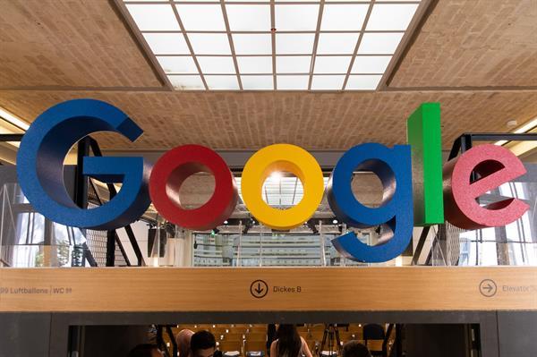 Logo del gigante de Internet, Google. Foto: EFE