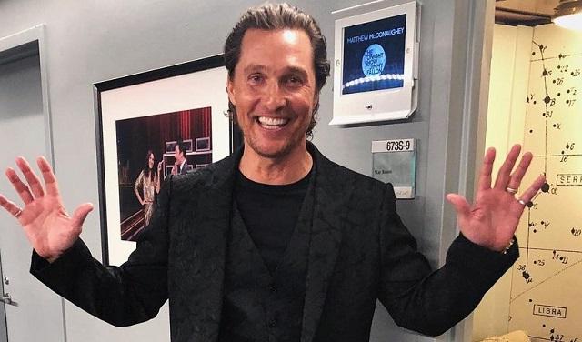 Matthew McConaughey. Foto: Instagram