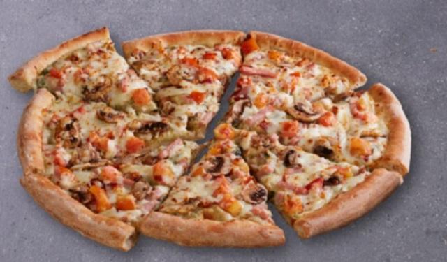 Pizza, un bocado cotizado. Foto: Cortesía
