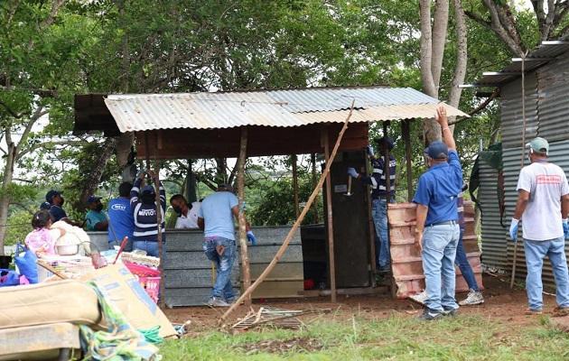 Unas 239 familias de invasores, de 300, aceptaron ir al sector de Las Mendozas. Foto: Cortesía @rparedesrobles