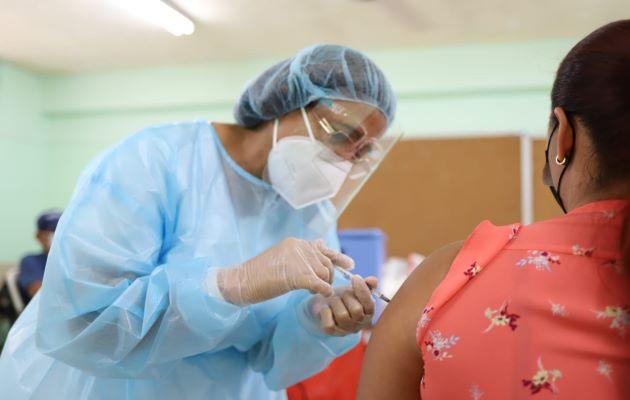 Panamá ha recibido 1.5 millones de dosis de vacunas contra la covid-19. Foto: Archivo