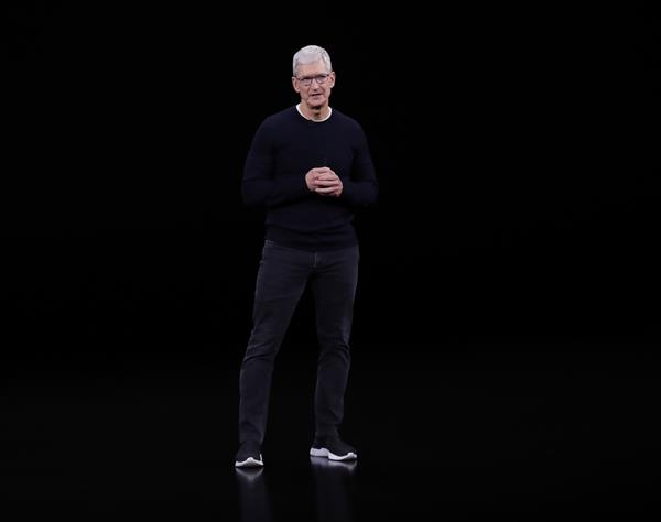 Consejero delegado de Apple, Tim Cook. Foto: EFE
