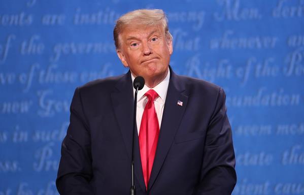 Expresidente de Estados Unidos, Donald Trump. Foto: EFE