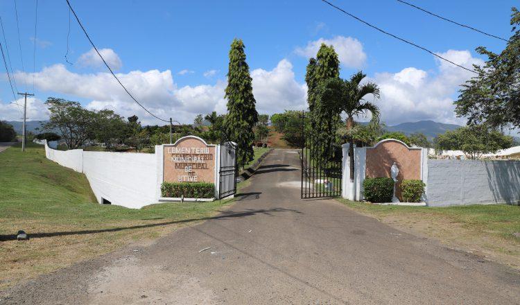 El cementerio de Utivé, en Pacora, comprende 10 hectáreas. Archivo