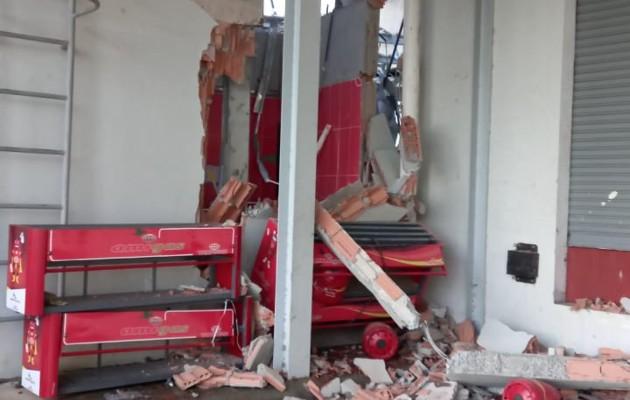 No se informó sobre heridos a causa de la explosión. Foto Eric Montenegro