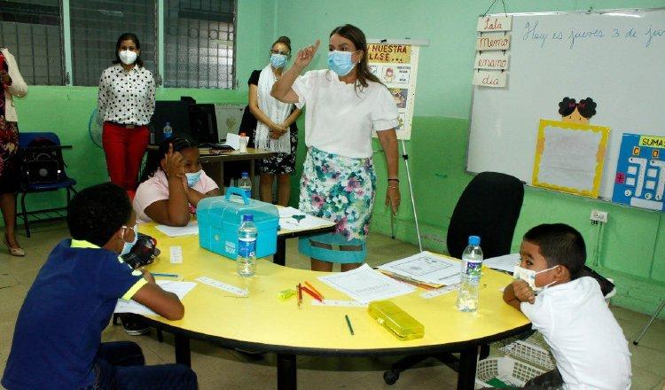 En escuelas como la República de Colombia, se dan tutorías. Foto: Cortesía Meduca