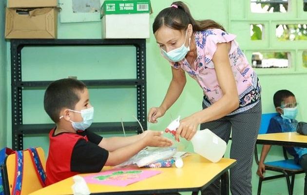 Los alumnos se adaptan progresivamente al retorno a clases. Foto: Cortesía Meduca