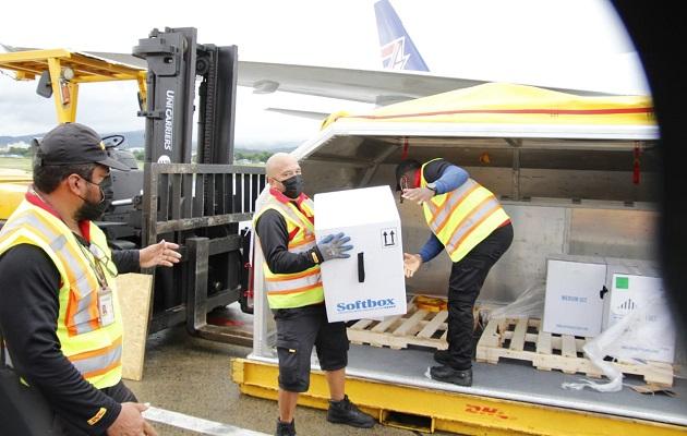 Panamá ha recibido 19 lotes de la vacuna de Pfizer. Foto: Cortesía Minsa