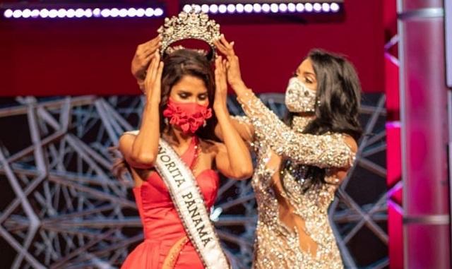 Coronación de Carmen Isabell Jaramillo, actual Señorita Panamá. Foto: @senoritapanamaoficial