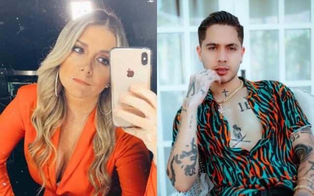 Bettina García y Juan De Dios Pantoja, esposo de Kimberly Loaiza. Fotos: Instagram