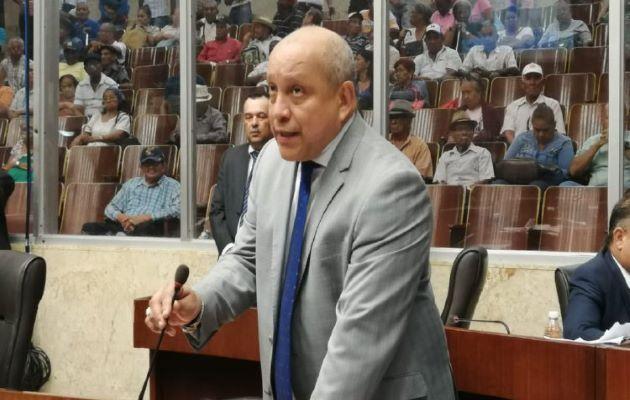 El diputado del PRD Crispiano Adames. Foto: Archivo