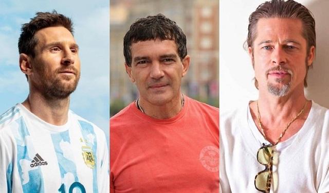 Leo Messi, Antonio Banderas y Brad Pitt, forman parte del Famous Wine Festival 2021. Fotos: Instagram
