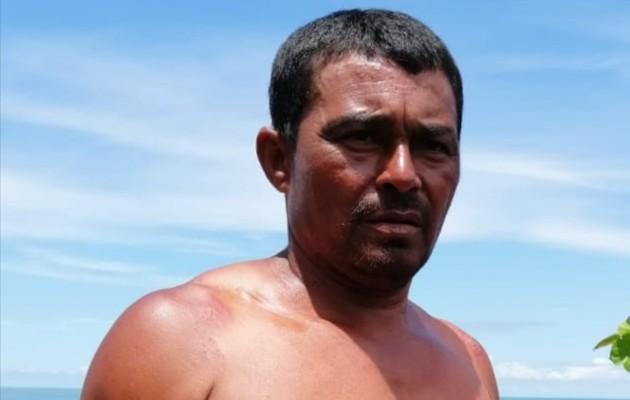 Los pescadores salieron a buscar productos del mar para la exportación. Foto: Mayra Madrid