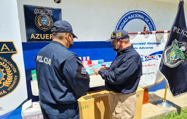 Por este caso de contrabando de cigarrillos no hay detenidos. Foto: Thays Domínguez