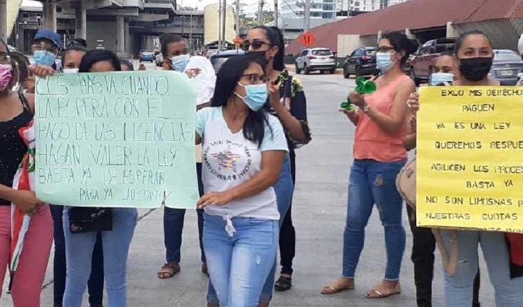 Mediante protestas en las calles, estas mujeres consiguieron que se les reconociera el derecho. Foto: Archivo