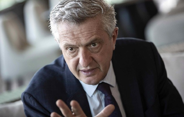 Alto comisionado de las Naciones Unidas para los Refugiados(ACNUR), Filippo Grandi. Foto: EFE