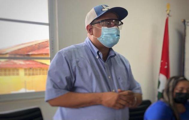 El alcalde de Aguadulce, Jorge Herrera. Foto: Cortesía Alcaldía de Aguadulce