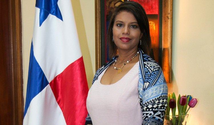 Zuleyka Moore, fiscal del Ministerio Público de Panamá. Archivo