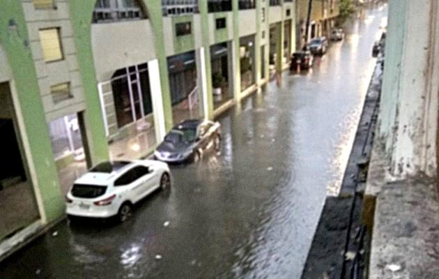 Poco a poco las aguas fueron bajando y todo regresó a la normalidad. Foto: Diomedes Sánchez