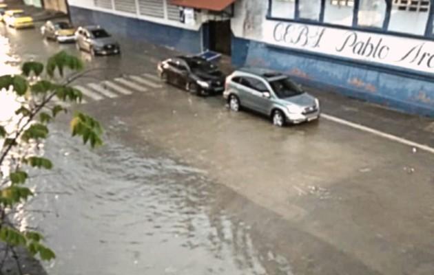El Sinaproc realiza las evaluaciones para determinar los daños causados por el mal tiempo. Foto: Diomedes Sánchez