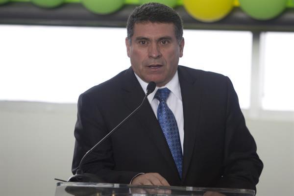 El entrenador colombiano Luis Fernando Suárez. Foto: EFE