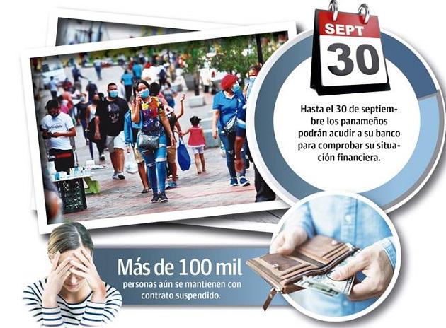 El presidente exhorto a los panameños acercarse a su banco, presentar su situación financiera y llegar a un acuerdo.