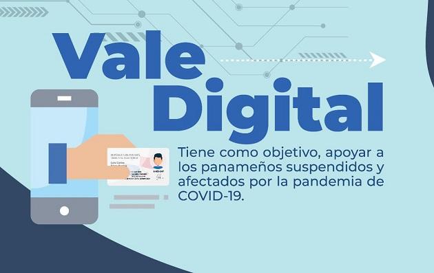 El formulario de inscripción para el Vale Digital será habilitado a partir del 1 de julio.