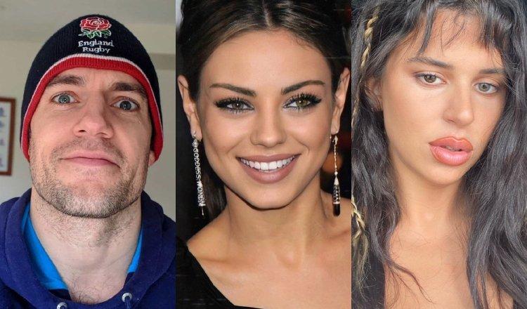 Henry Cavill, Mila Kunis y Nathy Peluso. Instagram