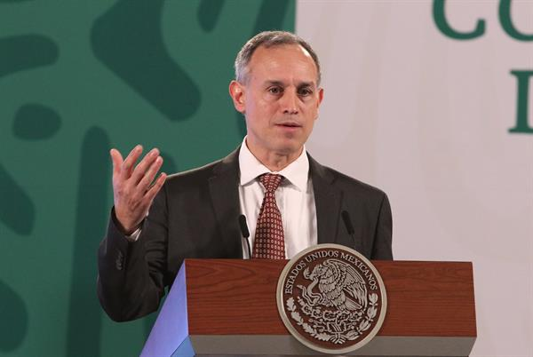El subsecretario de Prevención y Promoción de la Salud, Hugo López Gatell. Foto: EFE