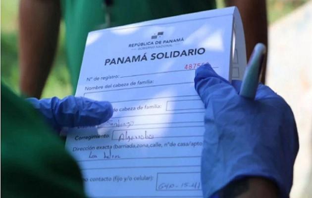 Panamá Solidario se entregará hasta el 31 de diciembre. Foto: Cortesía Presidencia de Panamá