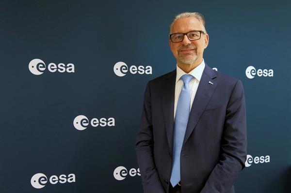El director general de la ESA, el austríaco Josef Aschbacher. Foto: EFE