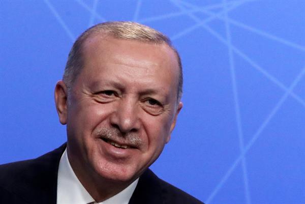 Presidente turco, Recep Tayyip Erdogan. Foto: EFE