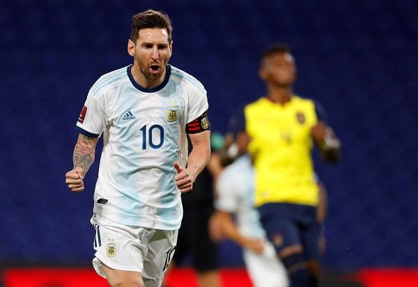 Messi se encuentra concentrado con la selección de Argentina. Foto: EFE