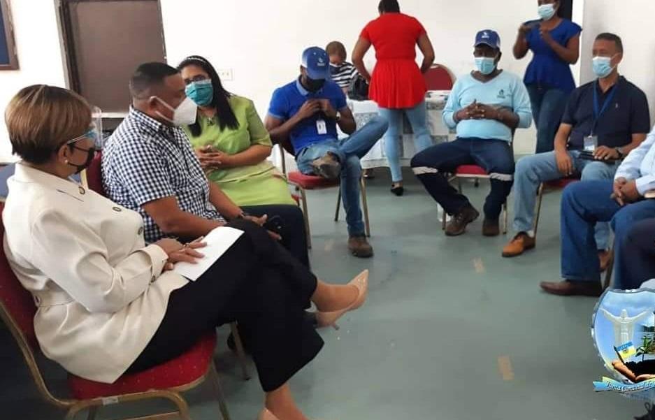 Representantes de Corregimientos se reunieron para tratar el tema. Foto: Diómedes Sánchez