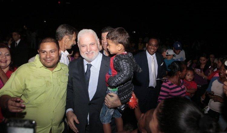 El expresidente Ricardo Martinelli (saco), el 9 de agosto del año 2019 fue declarado no culpable dentro de este mismo proceso.
