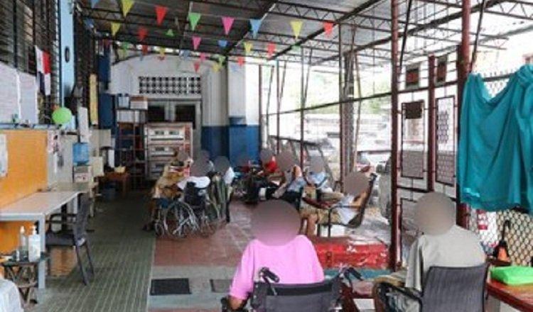 La mayoría de los albergues cuentan con espacios para que los adultos mayores se distraigan, pero la pandemia ha limitado su uso. Foto: Cortesía Defensoría del Pueblo.