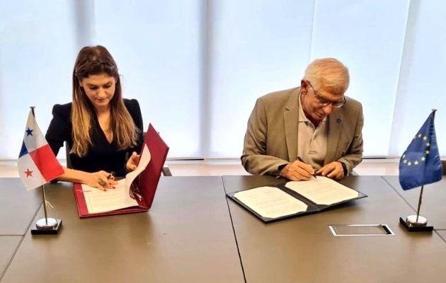 Firma del Memorando de Entendimiento sobre Consultas Bilaterales UE-Panamá.