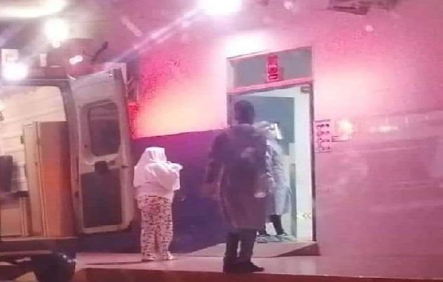 El herido fue llevado al cuarto de urgencias del complejo hospitalario Dr. Manuel Amador Guerrero. Foto: Diomedes Sánchez