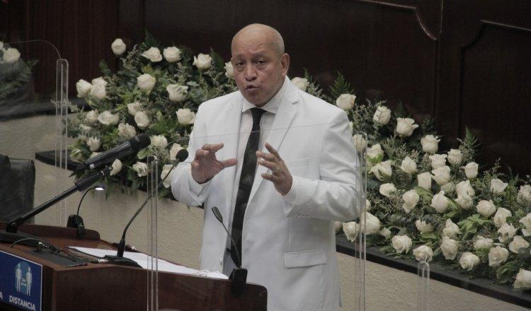 Crispiano Adames es el cuarto subsecretario del Consejo Ejecutivo Nacional (CEN) del PRD. Foto: Víctor Arosemena