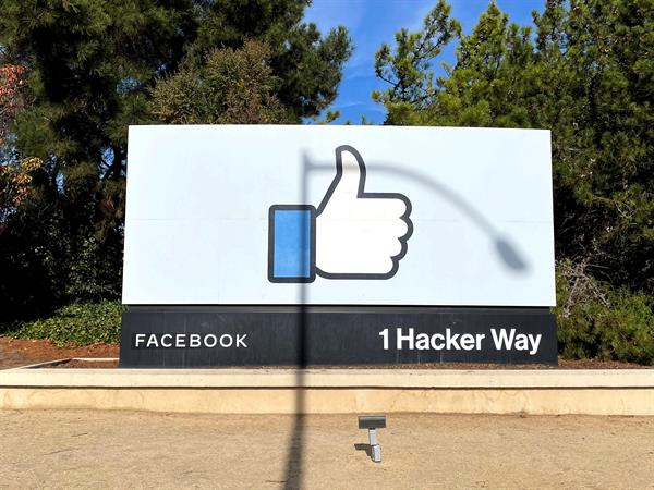 Vista de la sede de Facebook en Menlo Park, California, Estados Unidos. Foto: EFE